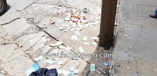 Atrapan a dos asalta clientes de bancos en Huixtla