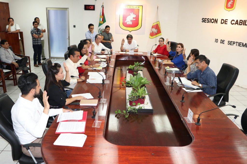 Cabildo tuxtleco aprueba el recinto oficial para Primer Informe de Gobierno municipal