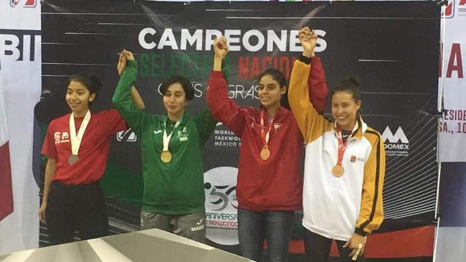 Cintia Zenteno es convocada para el equipo mexicano de taekwondo