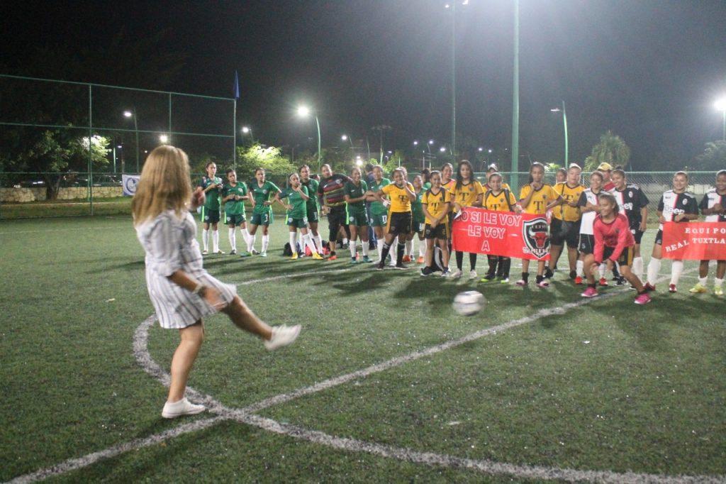 Deporte Municipal realizó el Segundo Encuentro Nacional Femenil FUT 7