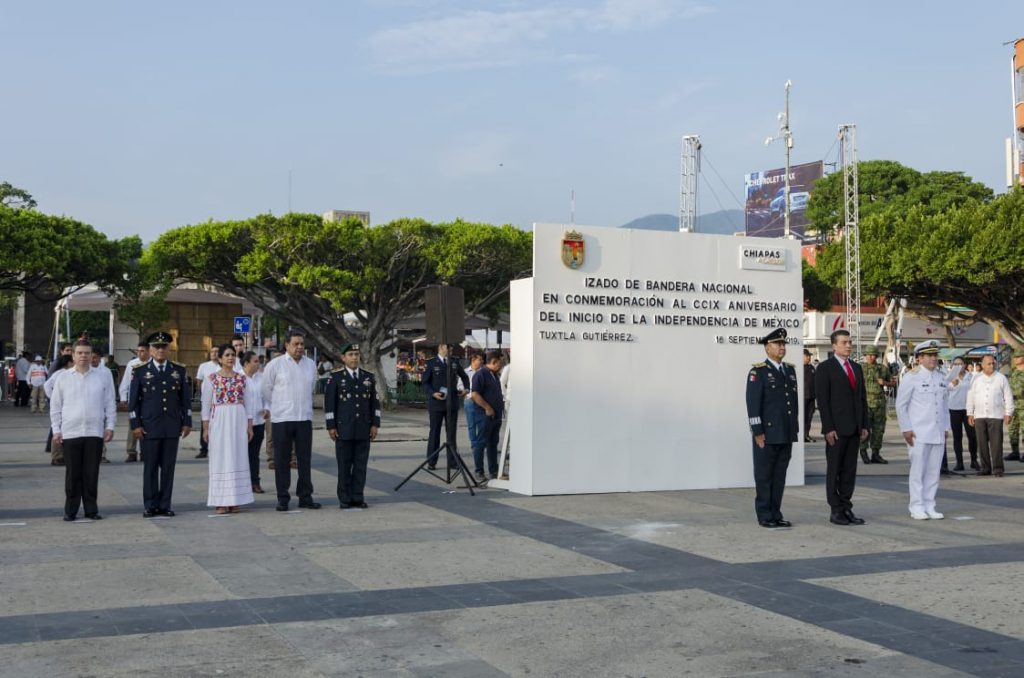 El Desfile Cívico Militar fortalece la cultura de paz y respeto: Juan Óscar Trinidad