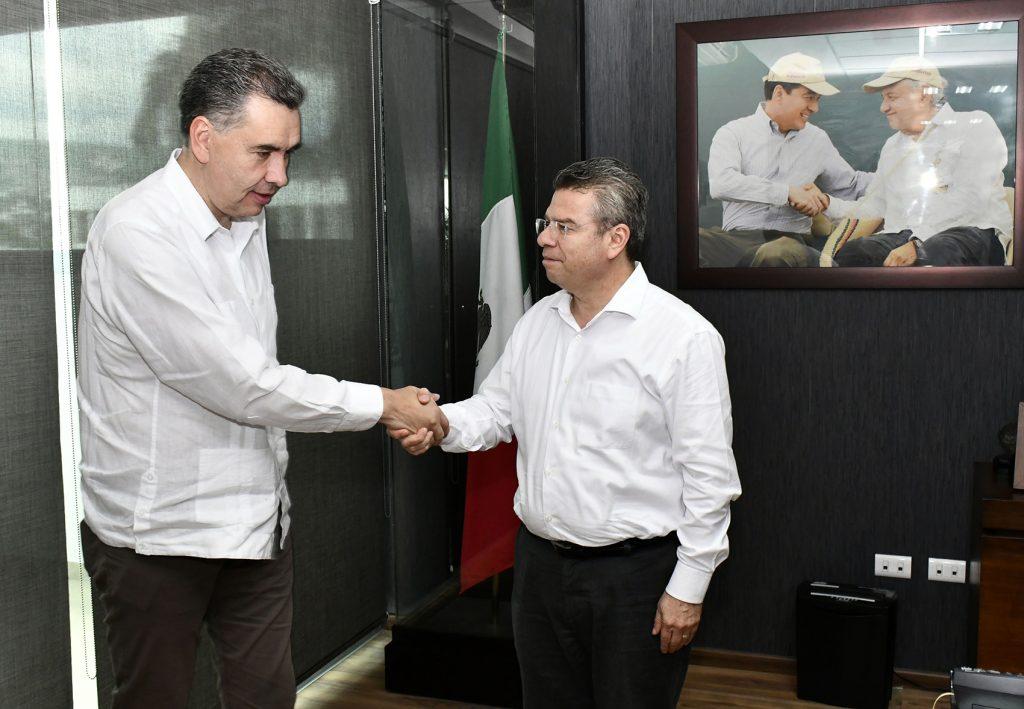 Estrecha comunicación entre el Gobierno de México y Chiapas