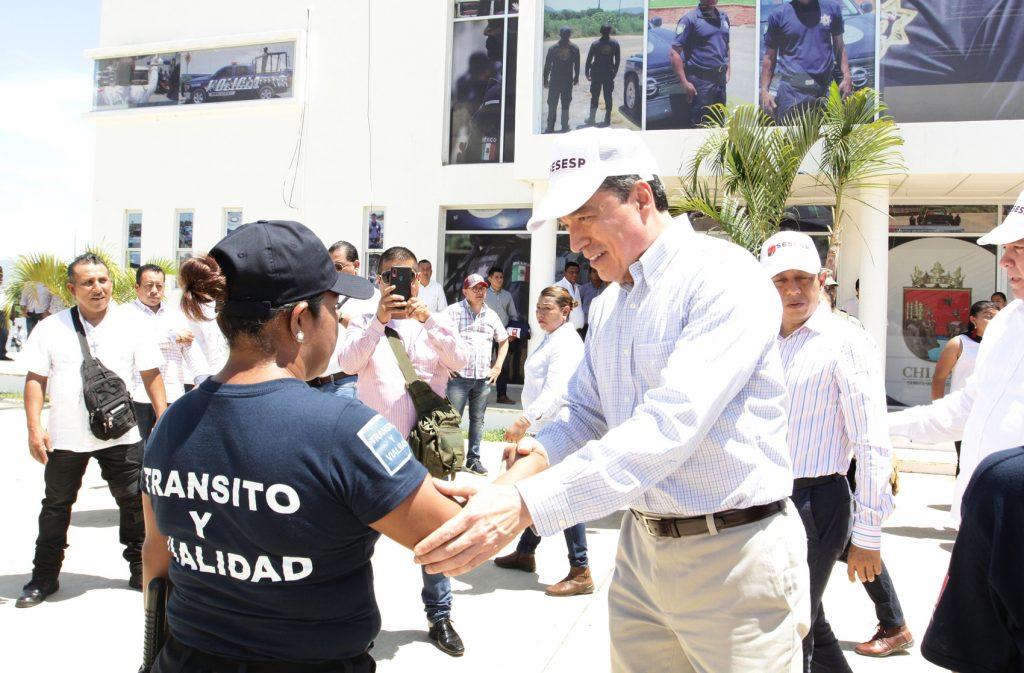 Inaugura Rutilio Escandón la Feria de Seguridad y Justicia en Villaflores