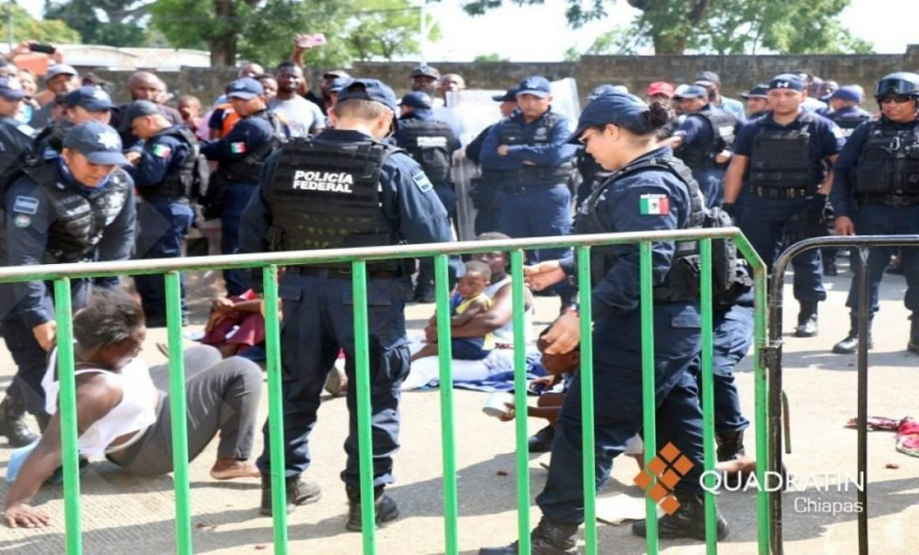 Migrantes intentarán marchar este viernes de Tapachula a Tijuana
