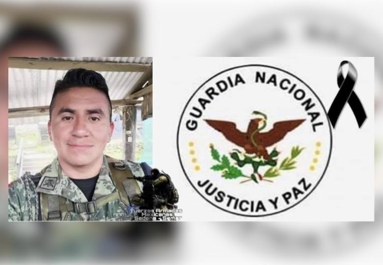 Muere elemento de la Guardia Nacional lesionado en Bochil