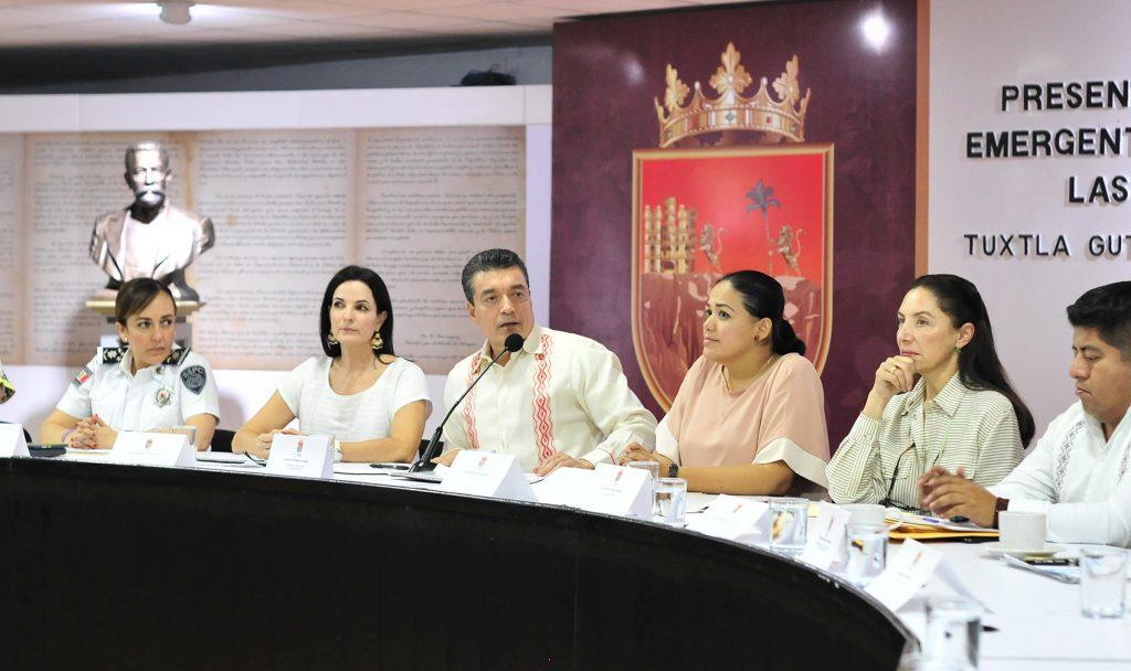 Gobierno de Rutilio Escandón presenta Plan Emergente por la Vida y Seguridad de las Mujeres y Niñas de Chiapas
