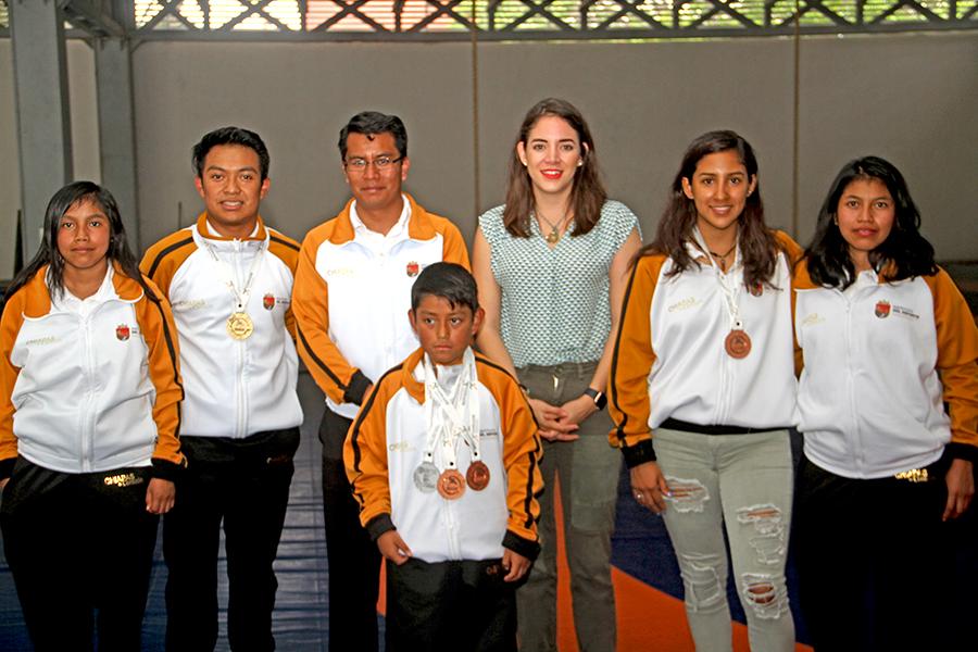 Reconocen a medallistas de Artes Marciales de Raíces Chinas