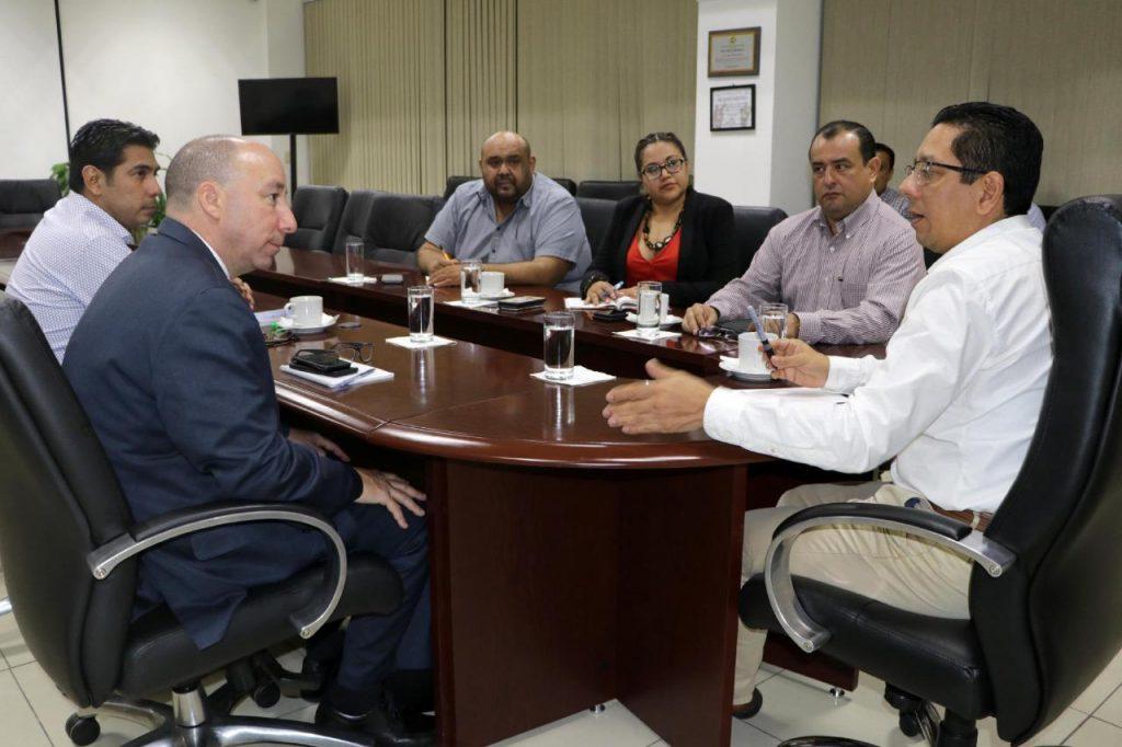 Se reúne Llaven Abarca con nuevo agregado jurídico del FBI en México