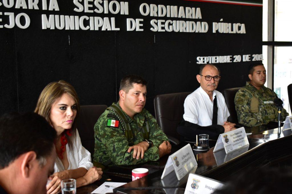 Se realizó la Cuarta Sesión Ordinaria del Consejo Municipal de Seguridad Pública