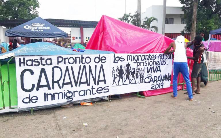 Aún no tienen fecha pero inmigrantes dicen harán caravana