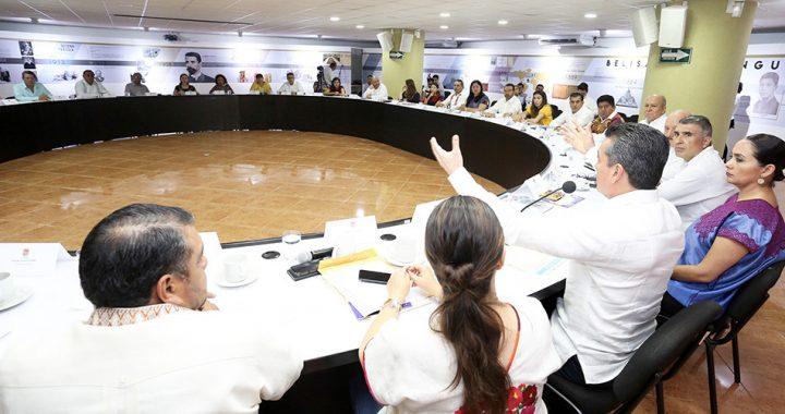 A casi 10 meses de gobierno, pide Rutilio Escandón continuar trabajo comprometido a favor de Chiapas