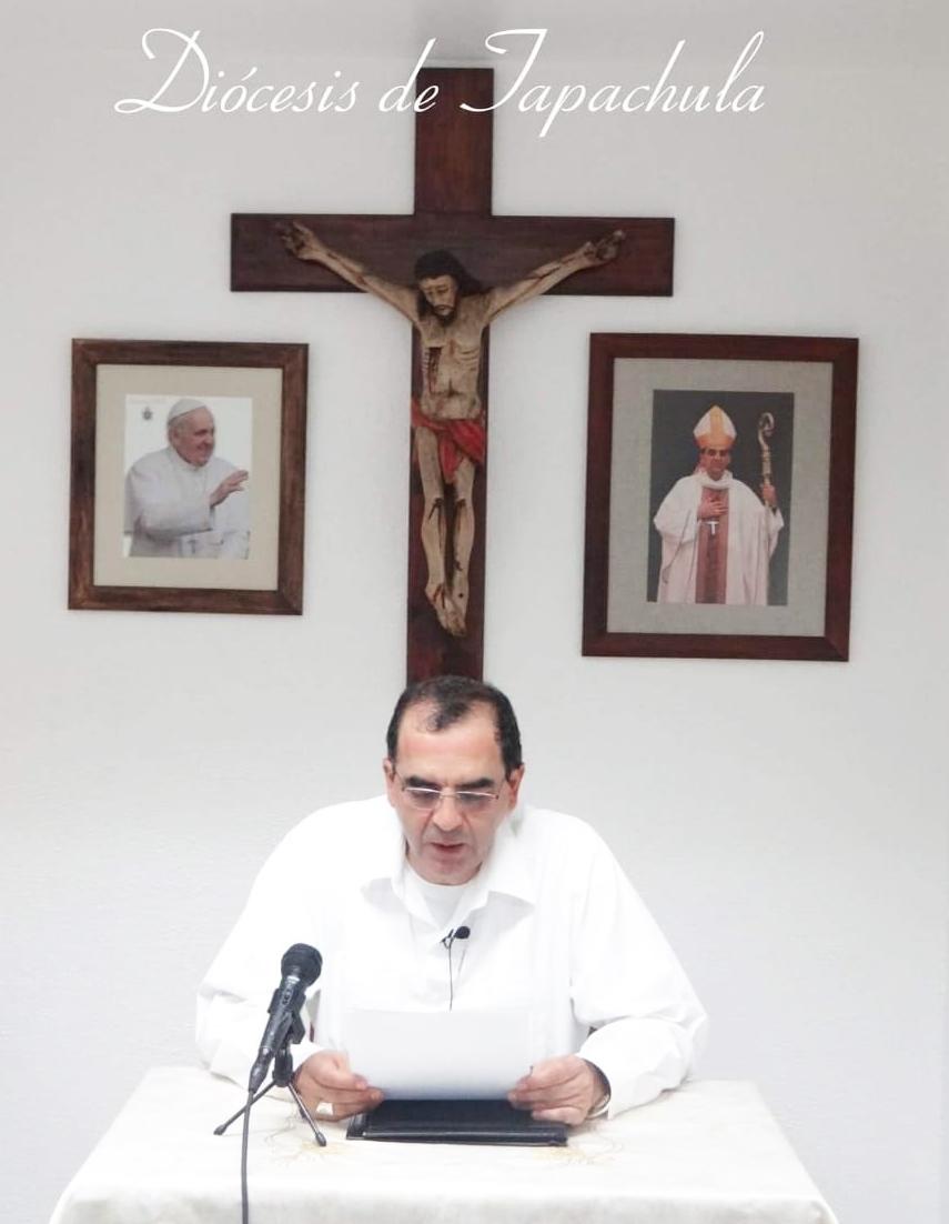 A renovar el amor de Dios en nosotros invita Monseñor Calderón