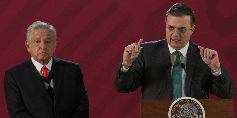 AMLO lamenta la muerte de Marcelo Ebrard Maure padre del canciller