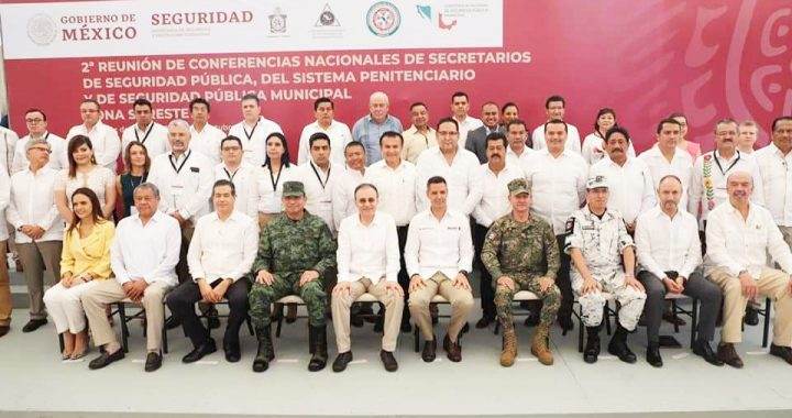 Ayuntamiento tapachulteco participa en la 2a. Reunión de Conferencias Nacionales de Secretarios de Seguridad Pública
