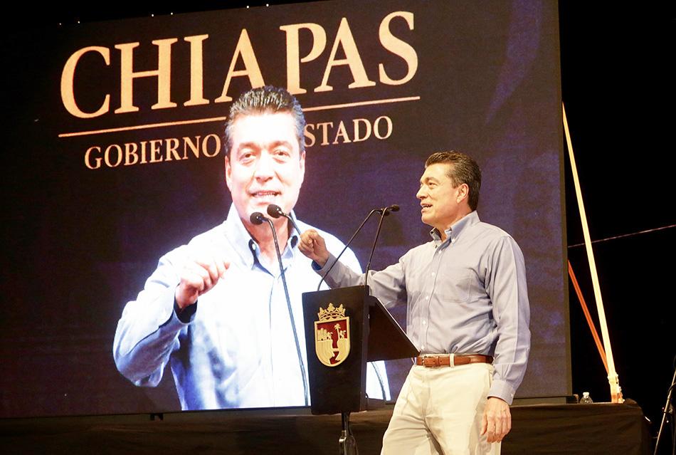 Chiapas, firme en el combate a la corrupción y la impunidad Rutilio Escandón