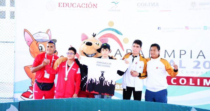 Chiapas inicia con preseas de plata y bronce en la Paralimpiada Nacional 2019