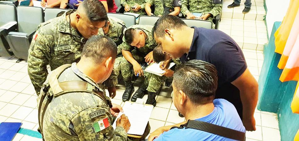 Continúa Poder Judicial capacitando a agentes de la Policía Municipal