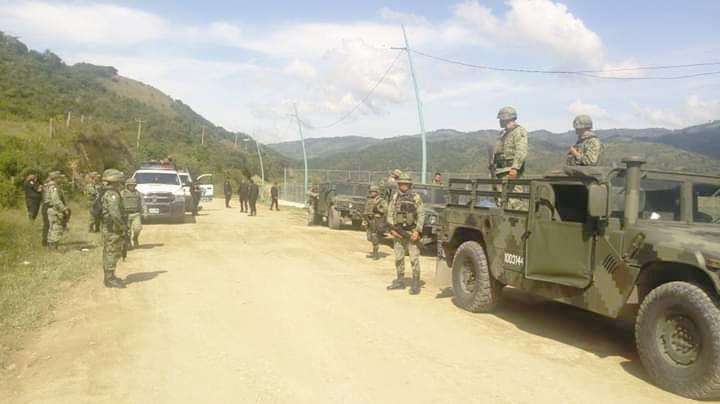 Continúan recorridos de seguridad en Bochil