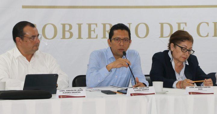 Destaca Llaven recuperación de predios invadidos en reunión con fiscales