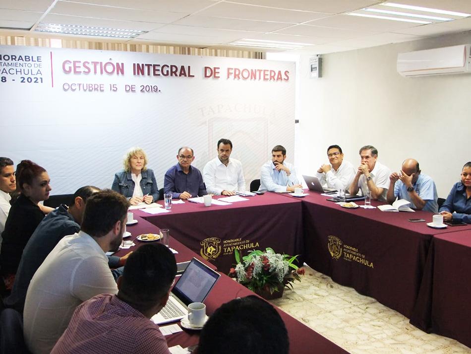 Edil Óscar Gurría participa en Reunión de Gestión Integral de Fronteras