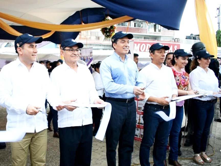 El Alcalde Gurría Penagos pone en marcha la Feria Regional de Seguridad y Justicia y Equipamiento Policial