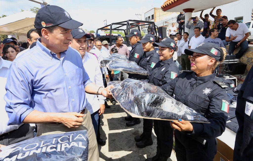 En Chiapas se trabaja del lado de la seguridad y la justicia Rutilio Escandón