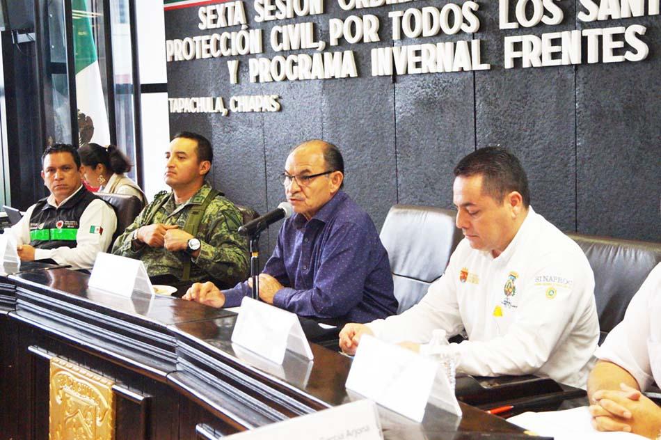 """En Tapachula presentan Plan para festividadesdel """"Día de Muertos"""" y temporada invernal"""