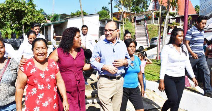 En la zona rural alta el edil Óscar Gurría rinde su primer informe de gobierno