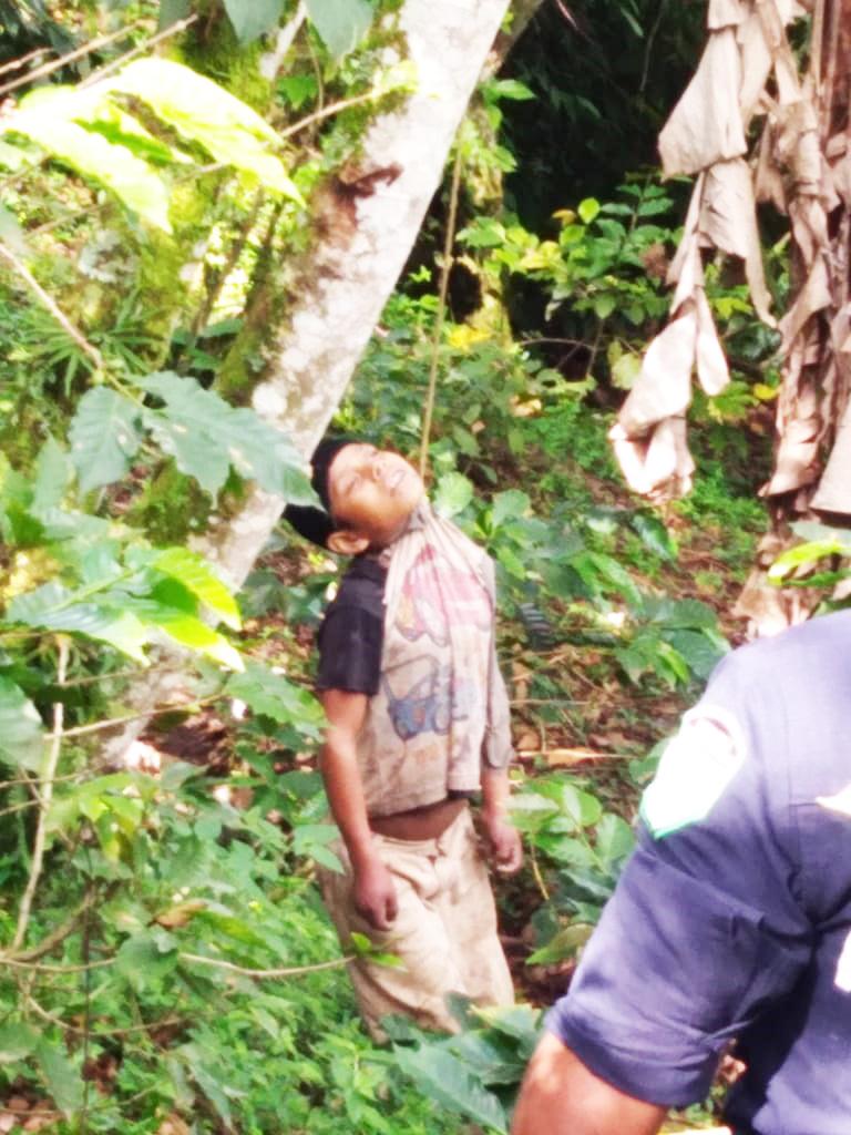 Encuentran a niño ahorcado en un cafetal en El Bosque