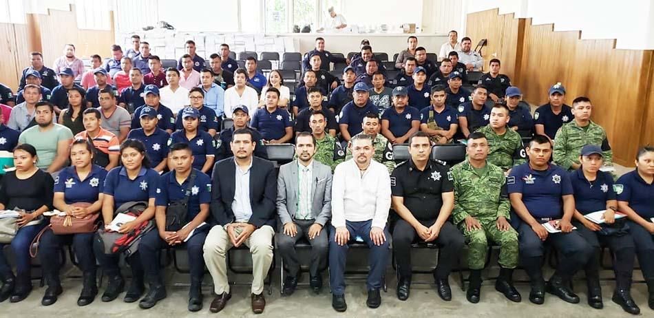 Exitosa capacitación a la Policía Municipal de la Zona Costa