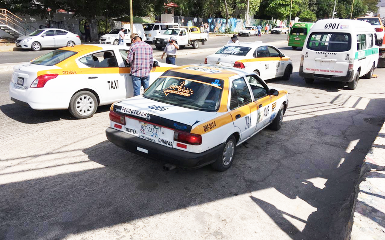 Hoy lunes se realizará movilización nacional de taxistas