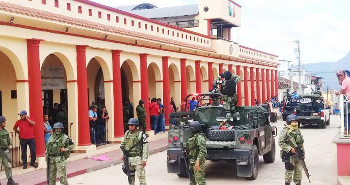 Inicia Fiscalía investigación por hechos violentos ocurridos en Simojovel