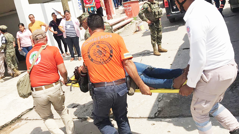 Inicia Fiscalía investigación por naufragio de embarcación en Tonalá