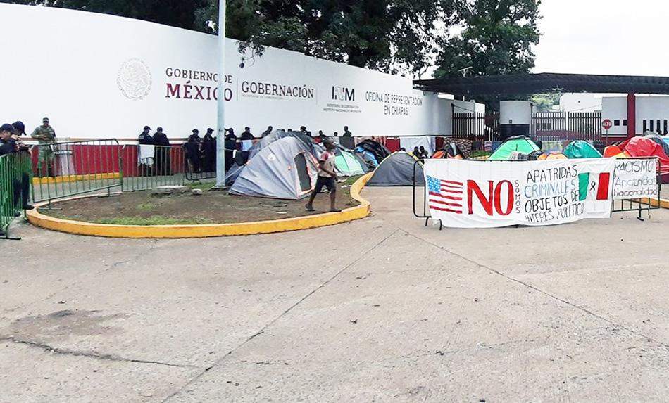 Migrante intentó suicidarse al interior de la Siglo 21 de Tapachula