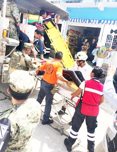 Naufraga embarcación con inmigrantes en Tonalá, 1 muerto y 2 desaparecidos