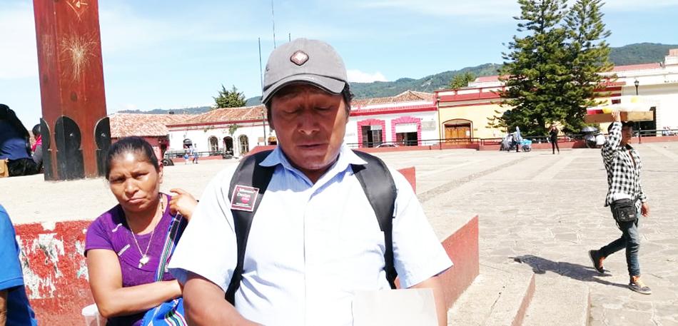 Pobladores de Ocosingo demandan liberación de presos políticos