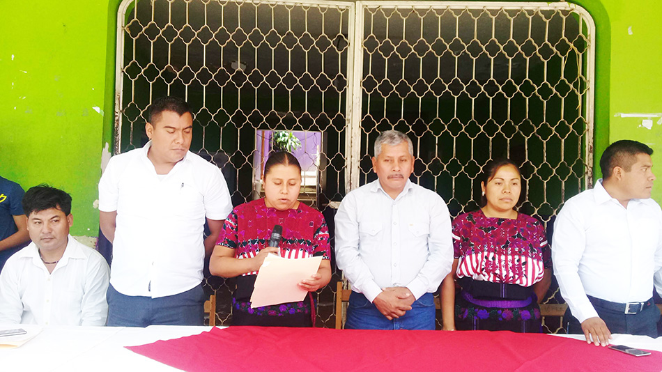 Por falta de autoridad habitantes de El Bosque turnan quejas al gobierno estatal
