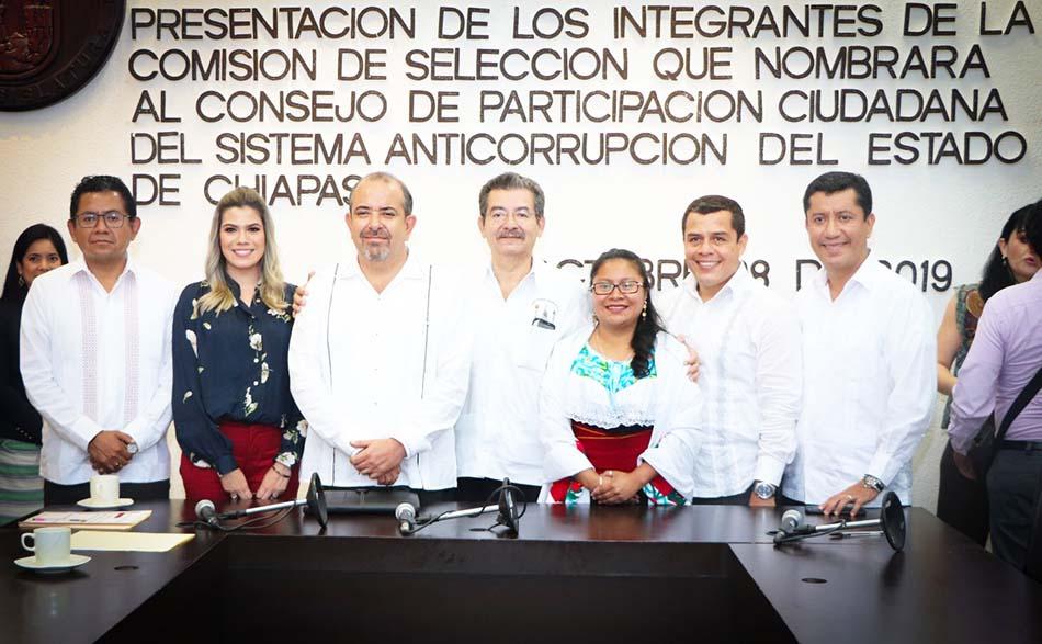 Presentan Comisión de Selección para nombrar al Consejo de Participación Ciudadana del Sistema Anticorrupción