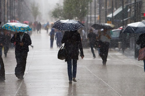 Prevén lluvias en el sur del Golfo de México, el norte y el noreste del país