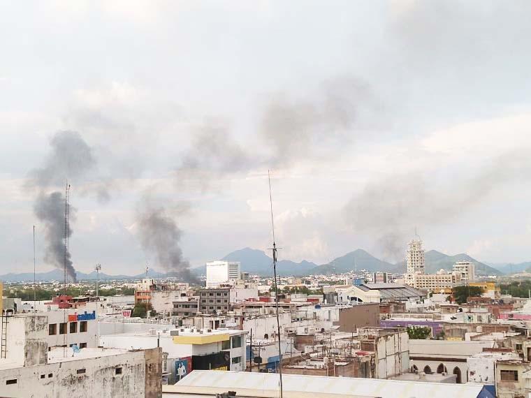 Reportan balaceras en distintos puntos de Culiacán, Sinaloa