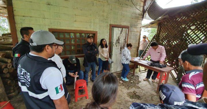 Restituye Fiscalía 127 hectáreas invadidas en zona alta de Tapachula