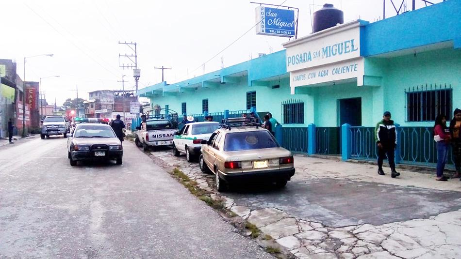 Retienen a taxistas por atropellar a un menor de edad en Bochil