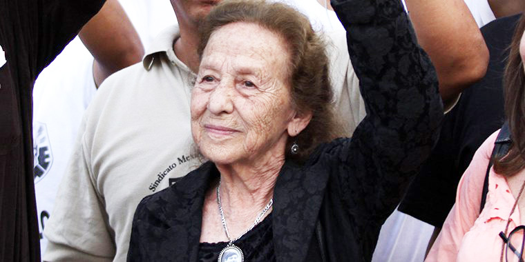 Rosario Ibarra no asistirá a recibir medalla Belisario Domínguez