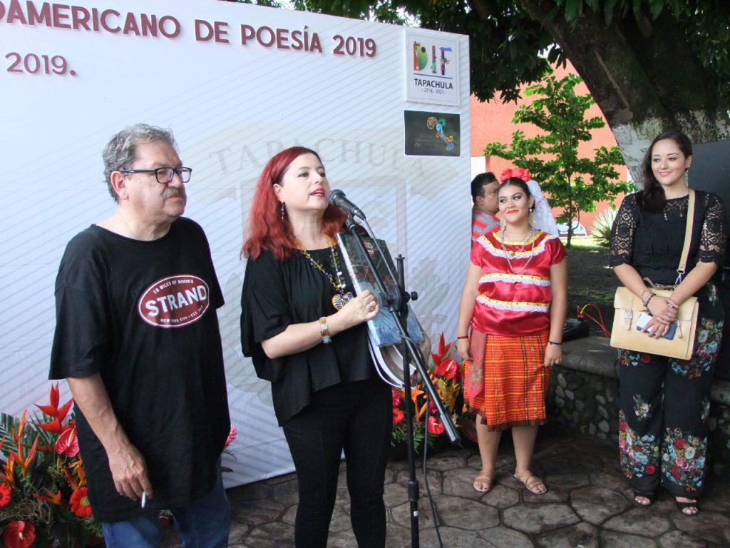 Se llevó a cabo en Tapachula el Festival Mesoamericano de Poesía 2019
