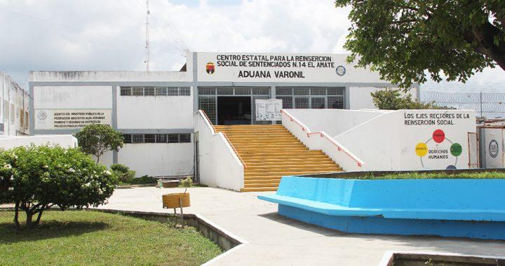 Sistema penitenciario de Chiapas, con el mejor RNIP a nivel nacional