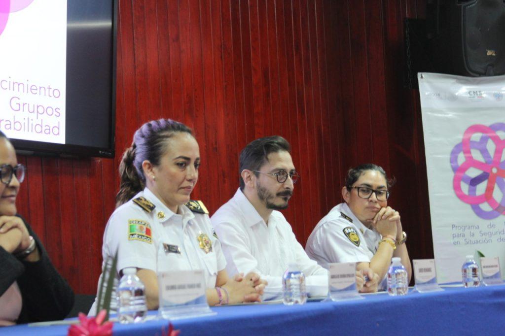 SSyPC y UNODC clausuran Curso de Atención a Víctimas de Violencia de Género