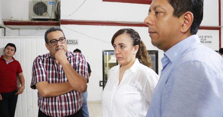 Supervisa Llaven trabajos de las fiscalías de Distrito Selva y Justicia Indígena
