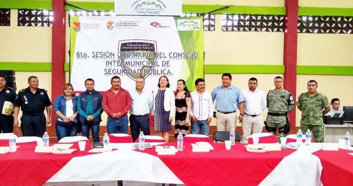 Alcaldesa de Pantepec preside reunión intermunicipal de Seguridad