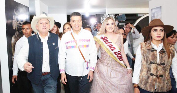 Junto al pueblo Rutilio Escandón inaugura Feria Chiapas de Corazón 2019
