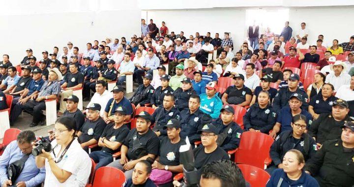 Realiza PJE capacitación a agentes ejidales de Villaflores